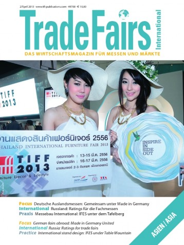 Trade Fairs International Ausgabe 2/2013