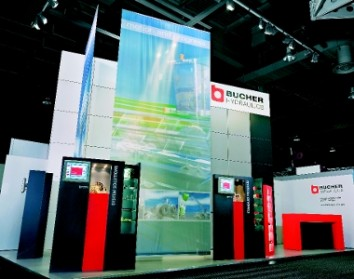 Bucher Hydraulics was the first to avail itself of Atelier Türke's services for exhibiting in Turkey. (Photo: Atelier Türke)