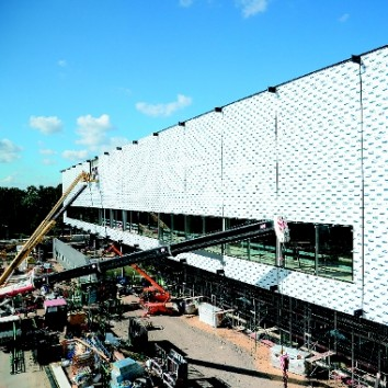 "The CityCube in Berlin is now ""weatherproof"". (Photo: Messe Berlin)"