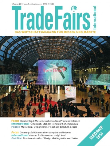 Trade Fairs International Issue 1/2014