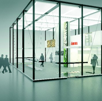 """Sensations in (system) space"" is the name of Modul International's concept at EuroShop 2014. (Photo: Modul)"