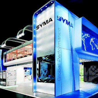 Syma showed what ideas can be made completely out of system components. (Photo: Syma)