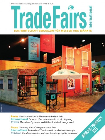 Trade Fairs International Ausgabe 6/2014