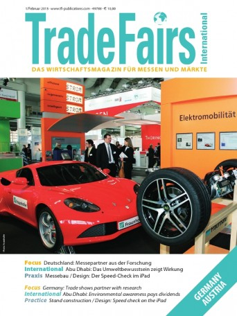 Trade Fairs International Issue 1/2015
