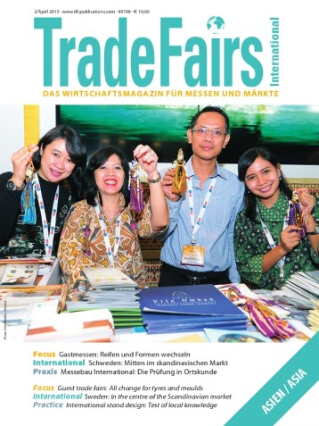 Trade Fairs International Ausgabe 2/2015