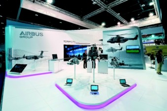 Bruns Messebau has served Airbus as a customer at around 20 events world-wide since 2012. (Photo: Bruns)