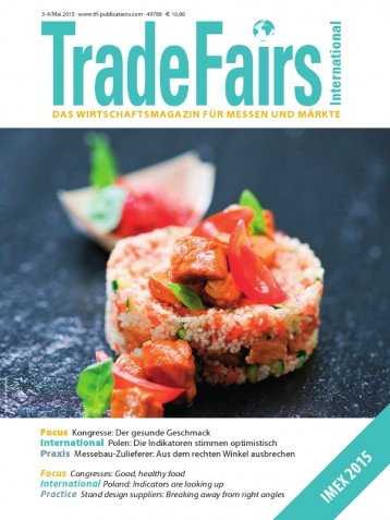 Trade Fairs International Ausgabe 3-4/2015