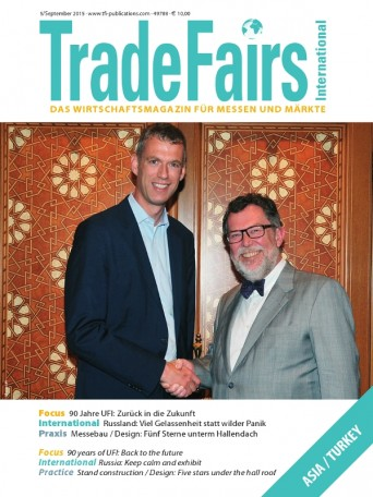 Trade Fairs International Ausgabe 5/2015