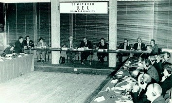 When the UFI was half as old as it is today: seminar in Verona back in 1970. (Photo: UFI)