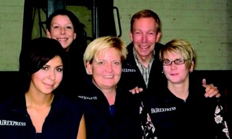 Fairexpress (f.l.): Farah Elouahabi, Ulrike Klack, Christiane Roelfs, Jörg Reinert and Natascha Hönig. (Photo: Fairexpress)
