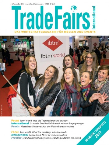 Trade Fairs International Ausgabe 6/2016