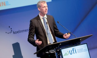 """In total, we are offering almost a full day of additional content,"" says UFI managing director Kai Hattendorf. (Foto: UFI)"