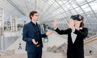 VR applications at Leipziger Messe boost distribution at the point of sale. (Photo: Leipziger Messe / Jörg Singer)