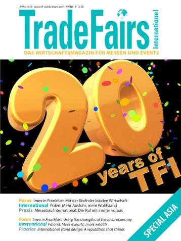 Trade Fairs International Ausgabe 2/2018