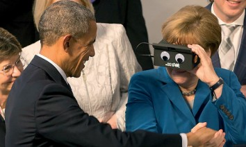 Barack Obama and Angela Merkel at Hannover Messe in 2016. (Photo: Deutsche Messe)