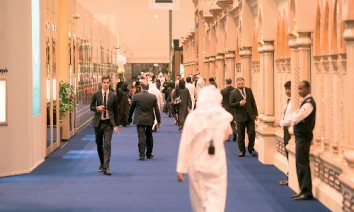 Good trade fair environment: According to IMF forecasts Qatar's GDP will grow by 3.1 percent this year. (Photo: DECC)