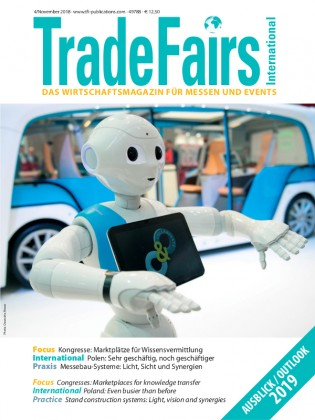 Trade Fairs International Ausgabe 4/2018