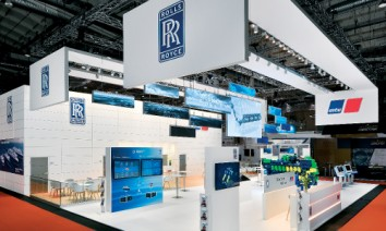 Bluepool succeeded in putting both brands into the spotlight: Rolls-Royce and MTU Friedrichshafen. (Photo: Bluepool)