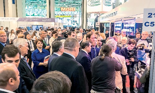Attraction: Metalloobrabotka has been Russia's leading international metalworking show for many years. (Photo: Expocentre)