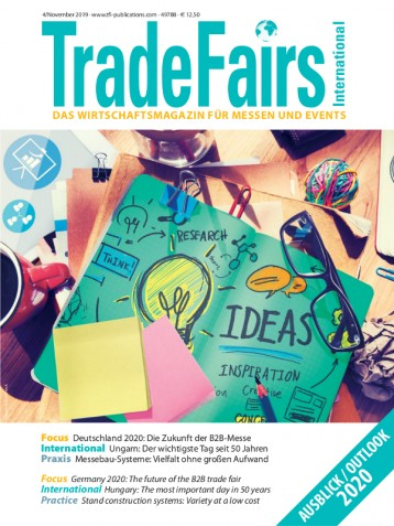 Trade Fairs International Ausgabe 4/2019