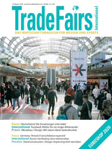 Trade Fairs International Ausgabe 1/2020