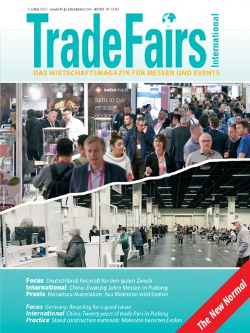 Trade Fairs International Ausgabe 1/2021