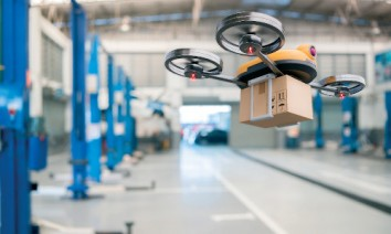 The use of drones also enables new business models and innovative strategies in trade logistics. (Photo: iStock)