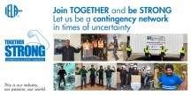 "IELA invites all event professionals to join the ""Together Strong"" initiative!"
