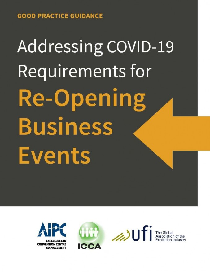 Good Practice Guide: Addressing Covid-19 Requirements for Re-Opening Business Events