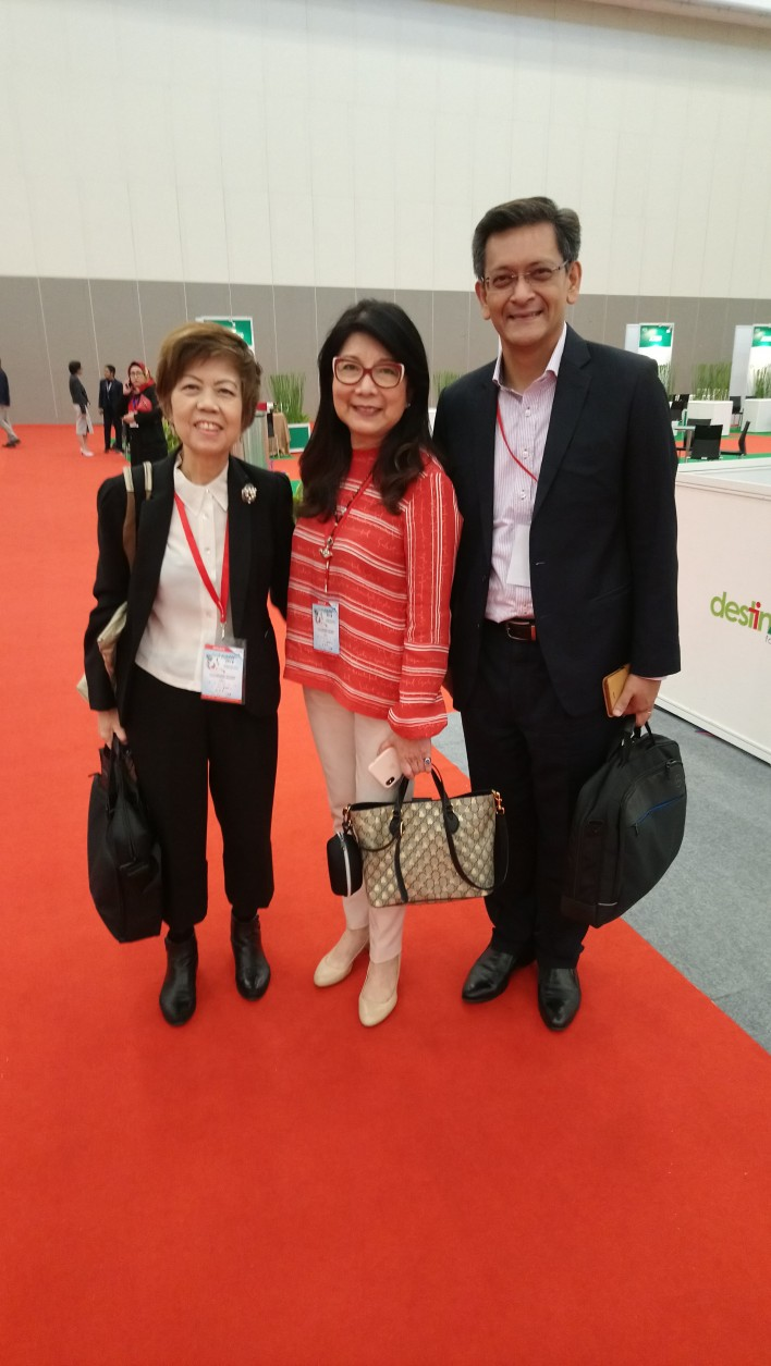 Renowned speakers (f.t.l.): Nancy Tan, Kitty Wong and Aloysius Arlando.