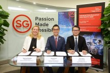 Commitment with Singapore Tourism Board to set up its new regional headquarters