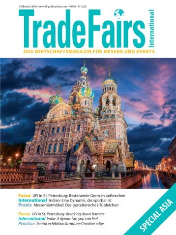 Trade Fairs International Ausgabe 3/2018