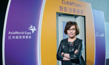 """A healthy and safe environment is equally as important as state-of-theart facilities,"" says Irene Chan (Photo: AsiaWorld-Expo)."